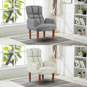 WestWood Modern Single Fabric Armchair Seat Chair Accent Recliner Lounge 2084
