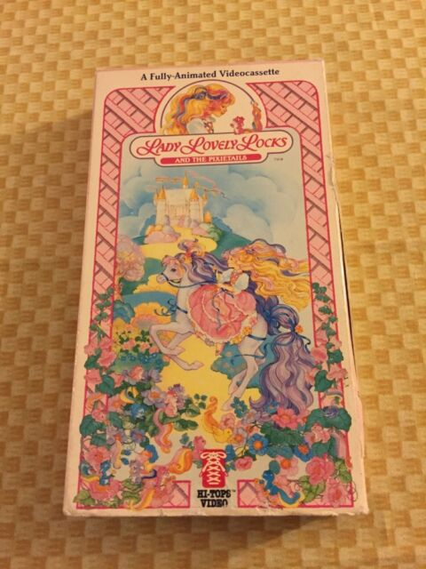 Lady Lovely Locks and the Pixietails VHS. Very Rare. 80's Cartoon