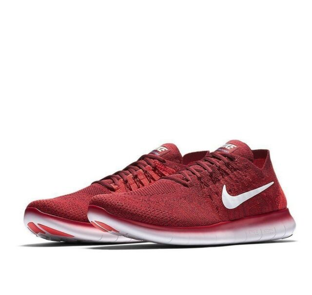 5bf7e8f6930f2 ... low price nike free rn flyknit 2017 mens running shoes 14 team red  880843 600 41a02