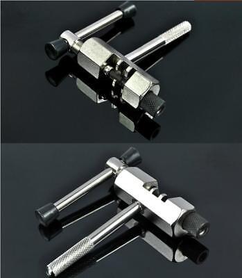 Bike Steel Chain Breaker Tool Splitter Cutter Repair Silver for Cycling Bicycle