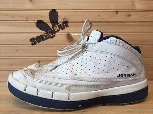 1999-Nike-Air-Jordan-Jumpman-Lite-sz-10-White-Navy-Blue-OG-XIII-13-136012-141