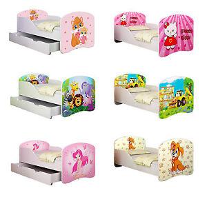 babybett kinderbett jugendbett matratze lattenrost neu 140x70 160x80 zimmerbett ebay. Black Bedroom Furniture Sets. Home Design Ideas
