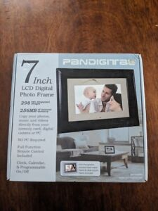 Pandigital 7 Inch Lcd Digital Photo Picture Frame Remote Control
