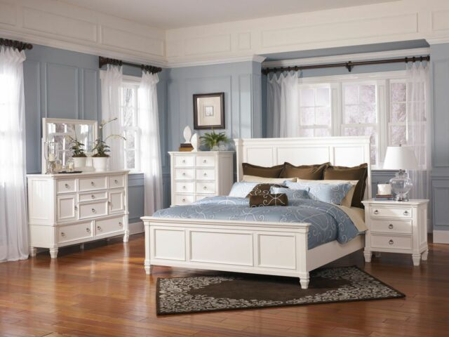 Ashley Furniture B672 Prentice Traditional Queen Or King Panel Bed