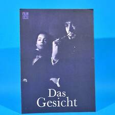 """2278 Film Für Sie 2/1969 DDR """"Das Gesicht"""" Max von Sydow Ingrid Thulin"""