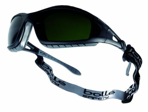 Case Bag 2,5,10 Bolle Tracker II Safety Glasses Goggles Anti Mist /& Scratch