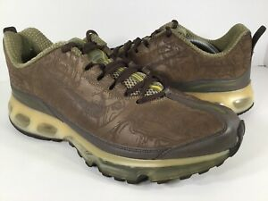 Details about Nike Air Max 360 Evolution Brown Leather Green Mens Size 11 Rare 313377 221