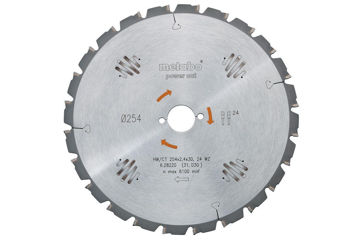 Metabo Kreissägeblatt HW CT 400x30, 60 WZ 15° - 628019000  OB