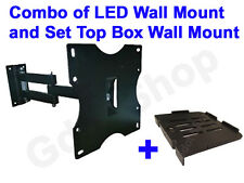 LED TV wall mount Swivel Type Moving Wall mount / Stand and STB Stand