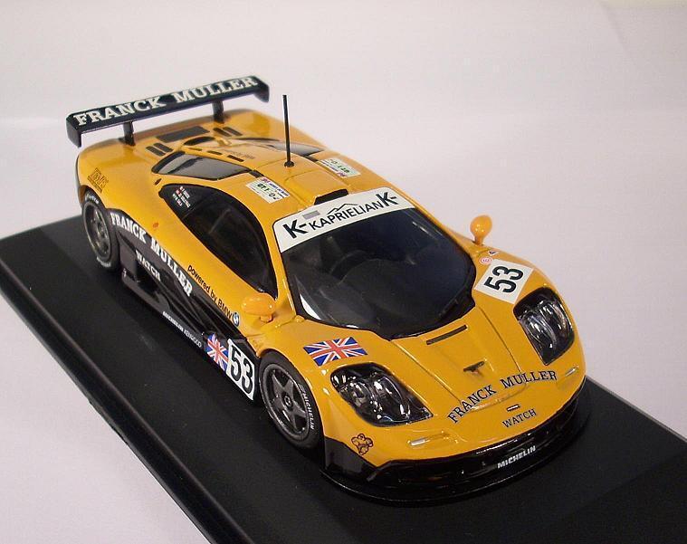 Minichamps PMA 1 43 McLaren f1 GTR Lemans 1996 Giroix Racing OVP