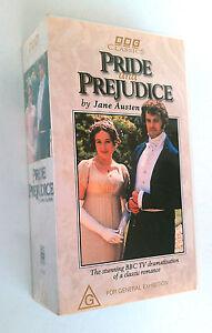 Pride-And-Prejudice-BBC-1995-VHS-2-Tape-Set