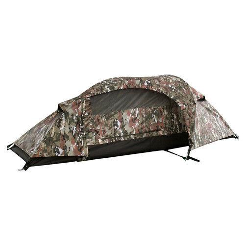 Esercito Recon US Multitarn Mimetico Militare uno Persona Tent Tenda per una
