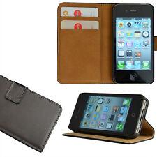iPhone 4/4S Brieftasche Handy Tasche Case Cover Etui Schutz Hülle Handytasche