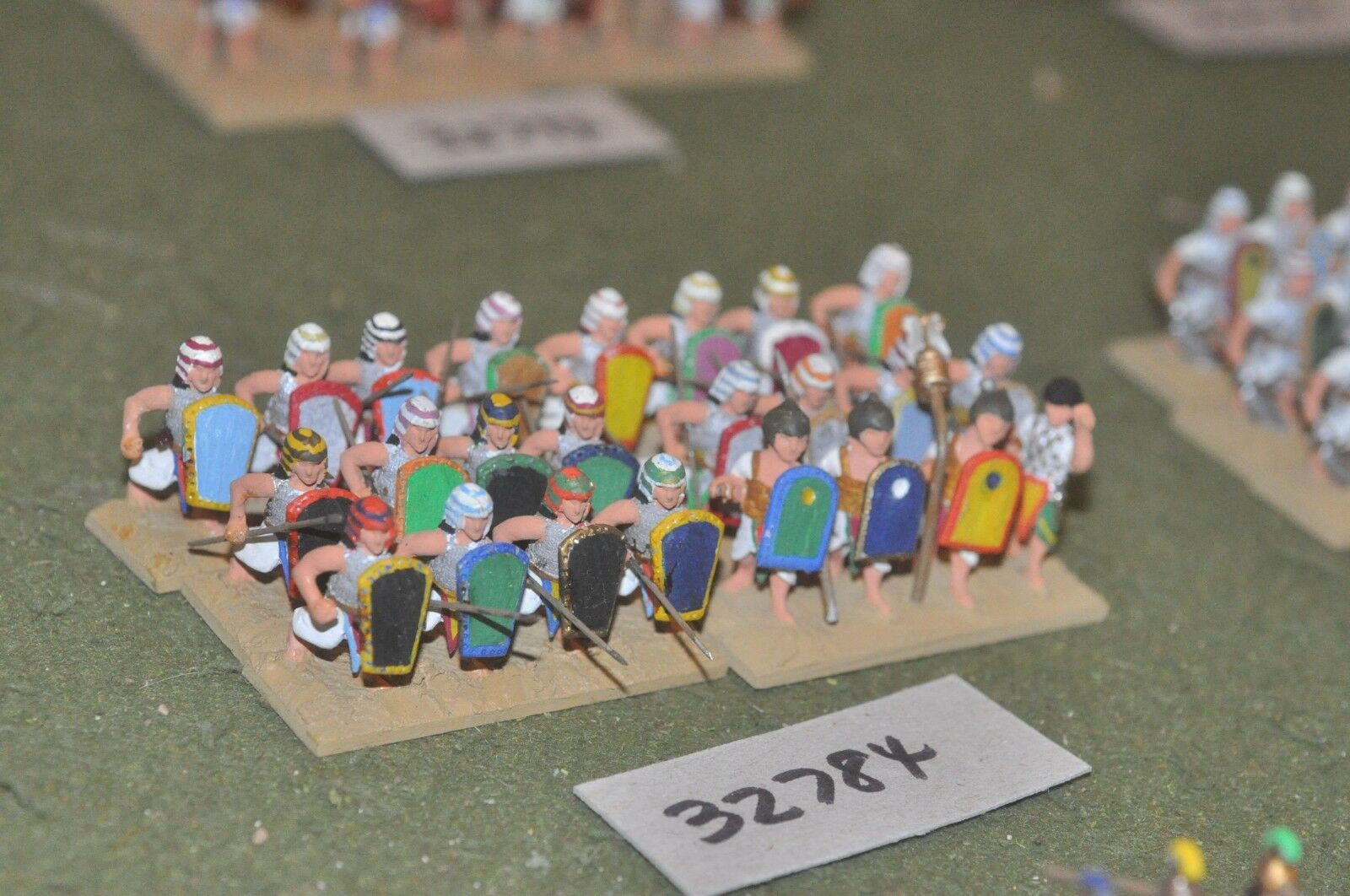 25mm biblical   egyptian - spearmen 24 figures - inf (32784)
