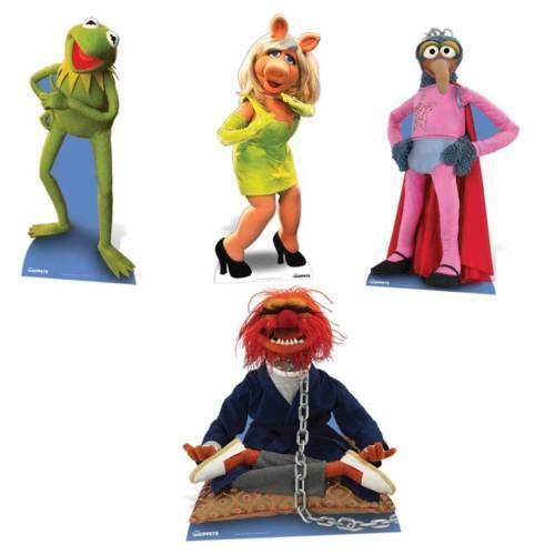 The Muppets lebensechte Größe Pappfigur Aufsteller Standfiguren wählen Sie Ihr