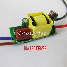 AC100-240V 3X3W 10w 900mA High Power LED Chip Driver Supply For Light Lamp diy