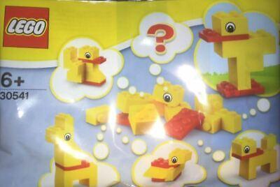 Lego 30541 NEW Yellow Duck Animal Free Build Polybag10pc Stocking Stuffer 2018