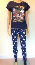 Harry Potter Women/'s Letter to Hogwarts Primark Pyjamas PJS Set Christmas Ladies