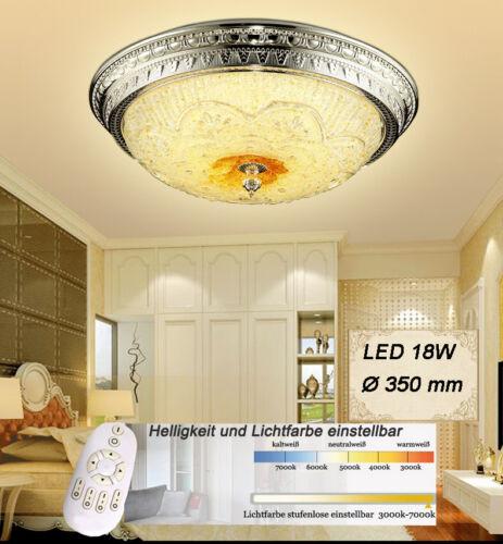 LED Deckenleuchter SSXD002  Fernbedienung Lichtfarbe//Helligkeit einstellbar A+
