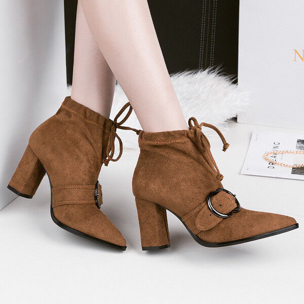 botas bajo zapatos tobillo piel beige 10 cm elegantes como piel tobillo 9672 efd931