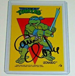Cam-Clarke-TMNT-Signed-Leonardo-Trading-Card-sticker-Voice-of-Leonardo
