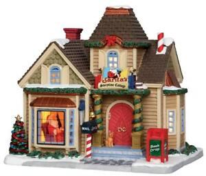 LEMAX CHRISTMAS Village - SANTA'S STORYTIME COTTAGE * Light-Up InsideScene