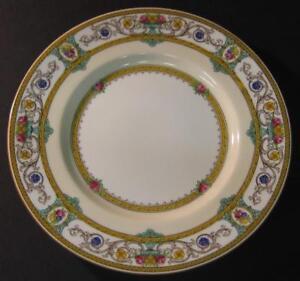 Antique-Vtg-Minton-Grasmere-Salad-Luncheon-Plate-7-3-4-034-Mustard-several-availabl