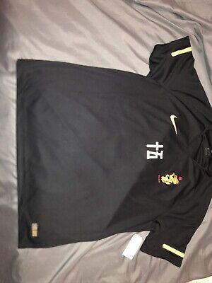 Nike Soccer Jersey Black AV4992-010 Medium