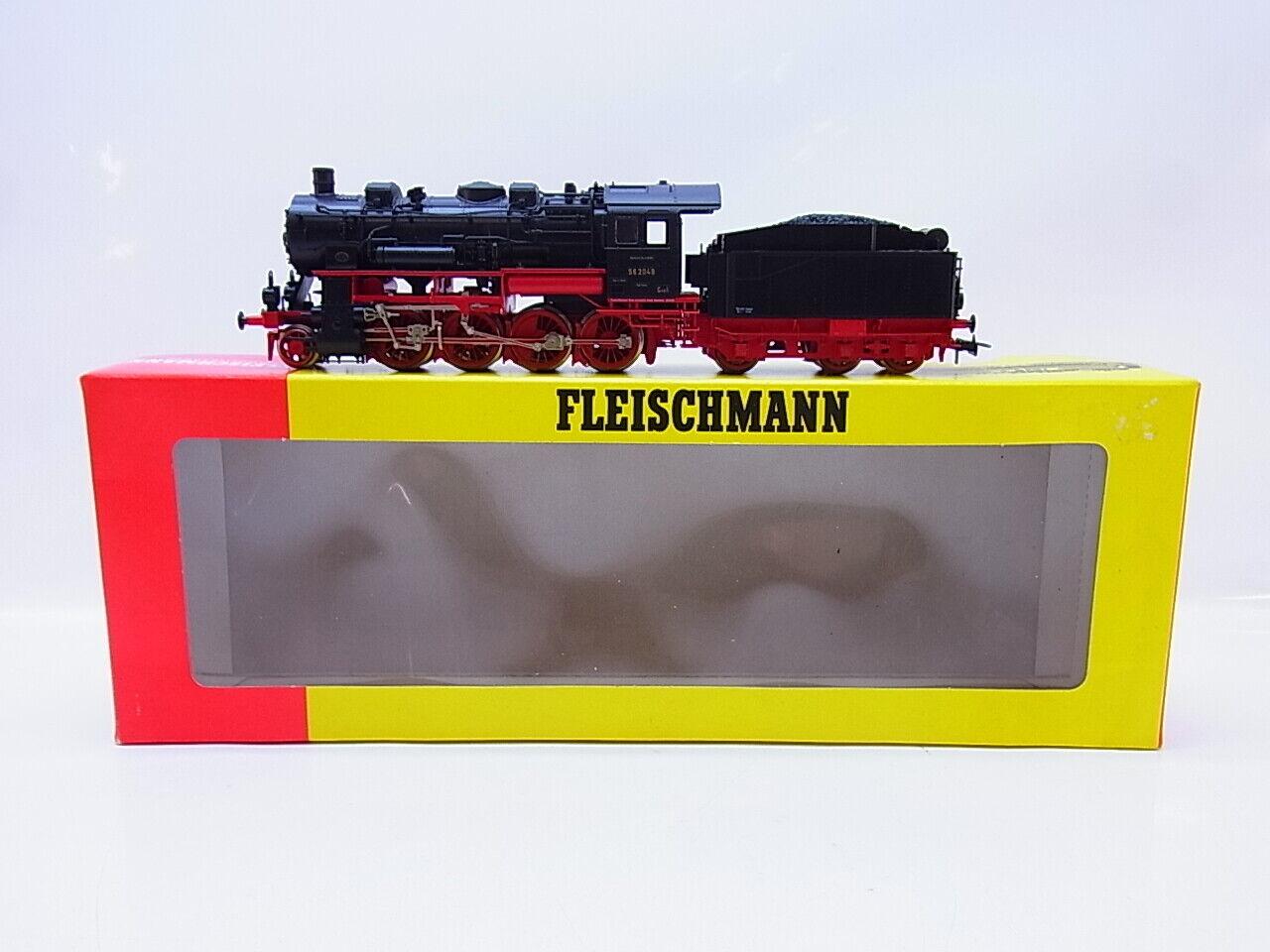 Lot 55699 Fleischmann h0 4156 máquina de vapor con tender br56 de la Dr en OVP