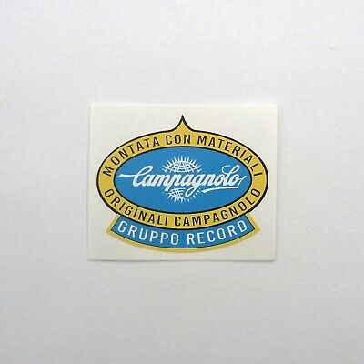 Vintage /'CTC/' Cyclists/' Touring Club Frame Decal Reproduction