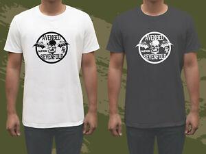 Avenged-Sevenfold-A7X-HAIL-THE-KING-Logo-Men-039-s-Black-amp-White-Tee-T-shirt-GILDAN