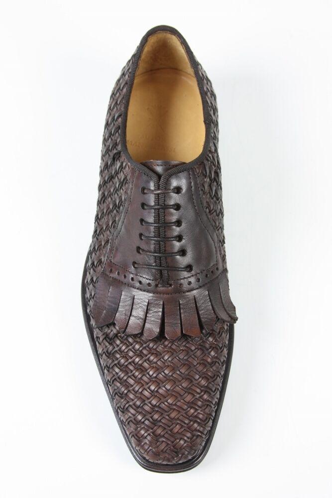 Sutor Mantellassi Shoes: 6.5 lattice UK / 7.5 US Dark brown lattice 6.5 kilted oxford 6637c3