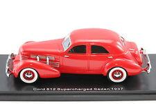 Cord 812 Supercharged Sedan 1937 rot 1:43 Resin 1:43 NEO 45740