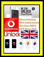 VODAFONE UK iPhone 7 7 Plus lo sblocco servizio N. SIM richiesto
