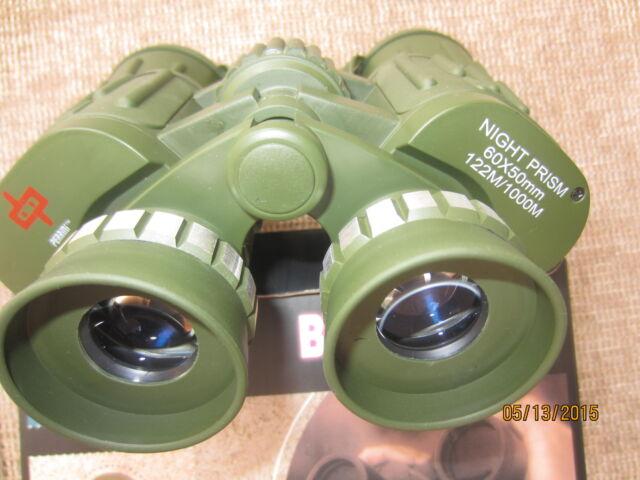 Day/Night Prism 60x50 Military Style  binoculars Camo