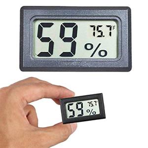 Mini higrómetro termómetro digital interior medidor de humedad monitor