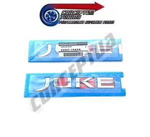 Genuine Nissan Rear Name Badge Emblem 90892-1KA0A - For Juke