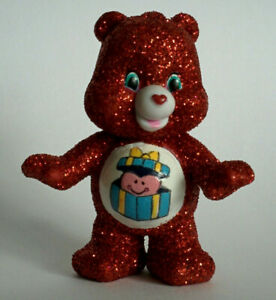 CUSTOM-Care-Bear-Collectible-Mini-Figure-Blind-Bag-Sparkle-GLITTER-GREAT-GIVING