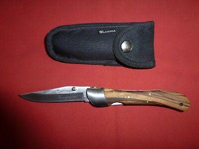 Couteau De Poche Laguiole Temporis 420 Et Etui Comme Neuf Ebay