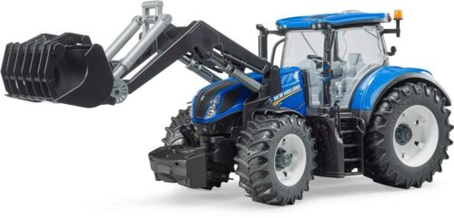 1//16 BRU3121 Tracteur NEW HOLLAND T7.315 avec chargeur frontal