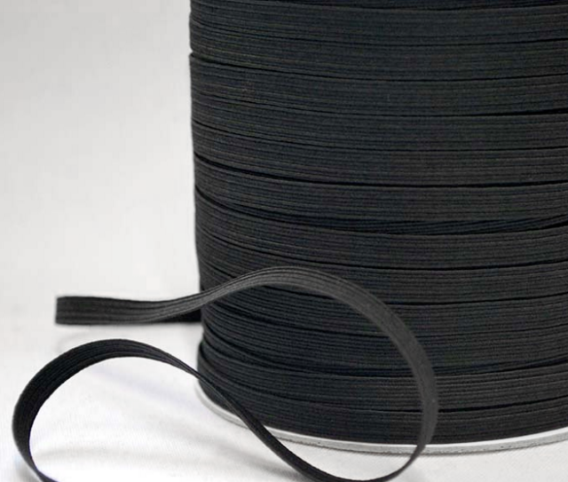 Black Round Elastic Cord Band For Diy Make Face Mask Trim Spandex 3mm 12 Yard Us For Sale Online Ebay