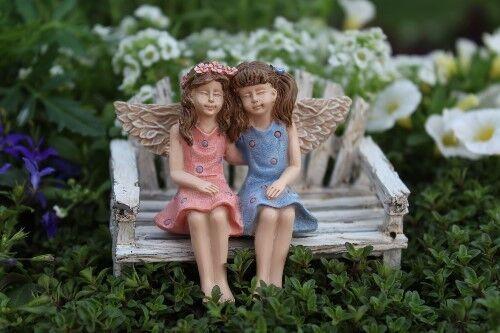 Miniature Dollhouse FAIRY GARDEN No Bench - Accessories Fairy Friends -