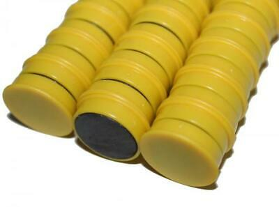 SchöN 10 Magnete Gelb Pinnwand Magnet Haftmagnete Büro Haushalt Kühlschrank Whiteboard SchüTtelfrost Und Schmerzen