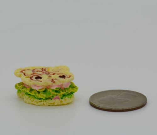 6 Sandwich Lunch Food Grocery Set of 4 DOLLHOUSE MINIATURE COLLETIBLE TOY 1
