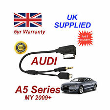 Para AUDI A5 Audio Cable Samsung Galaxy S2 S3 S4 S5 Micro USB y AUX 3.5mm Cable