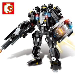 Sembo-Blocksteine-Modellbausaetze-Militaer-Blackhawks-Soldaten-Waffen-Spielzeug