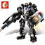 Sembo-Blocksteine-Modellbausaetze-Militaer-Blackhawks-Soldaten-Waffen-Spielzeug Indexbild 1
