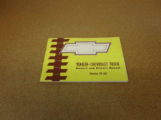 1969 Chevrolet Chevy Pickup Truck C  K K10 K20 C10 Owners