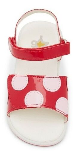 12 11 NATURINO W6ZY Red//Pink Desi Sandals for Toddler Girls Available Sizes 10