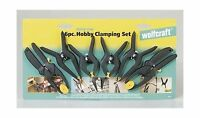 Wolfcraft 6 Pc. Hobby Clamping Set (3454) Free Shipping